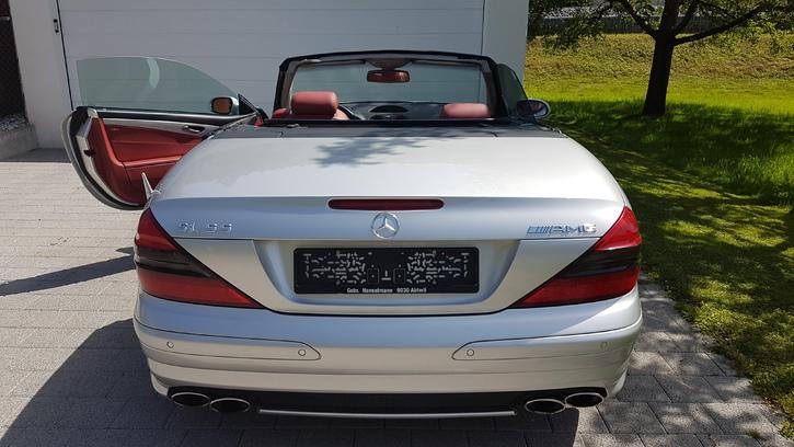 Mercedes SL55 AMG Mercedes 3