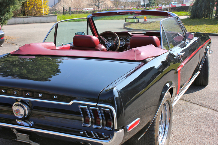 Ford Mustang 1968 302 GT Convertible  Ford 2