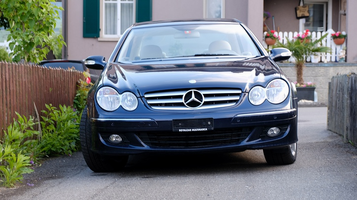 Mercedes-Benz CLK 320 CDI  Mercedes 1