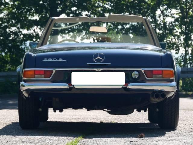 Mercedes-Benz 280 SL - Oldtimer - 02/1970 Mercedes-Benz 2