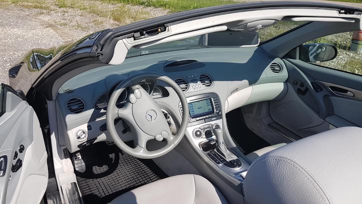 Service gepflegtes Cabriolet  Mercedes 350 SL Mercedes 3