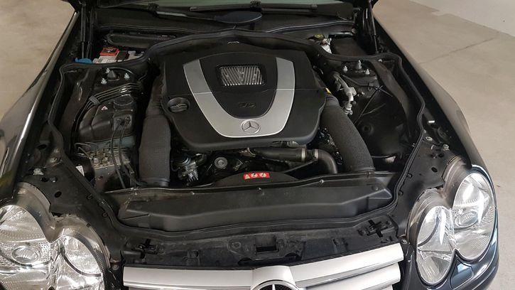 Service gepflegtes Cabriolet  Mercedes 350 SL Mercedes 4