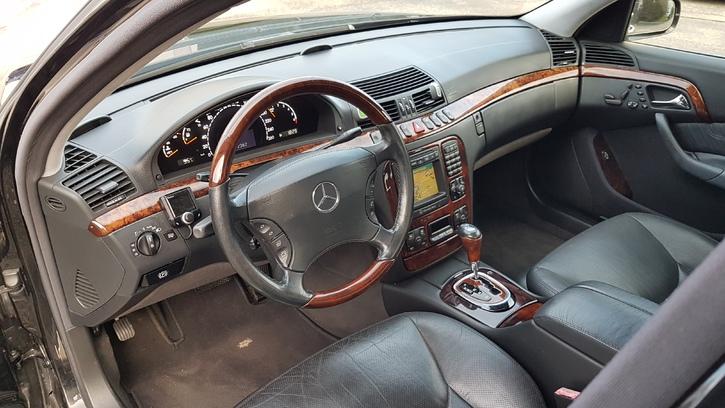 Mercedes Benz S500 Mercedes-Benz 3