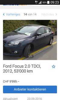 Ford Focus TDCi 2.0