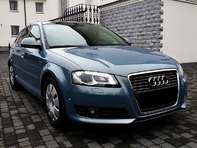 2010 AUDI A3 2.0 TDI CR 170 hp PANORAMA FULL LEATHER XENON