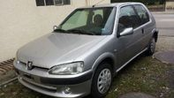 Peugeot 106 Quicksilver 8-fach bereift