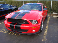 Mustang SHELBY GT500 SVT, 2010