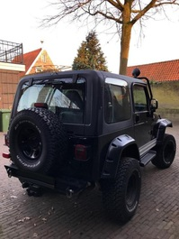 Jeep Wrangler TJ Black 1997 Full Options Hardtop Softtop