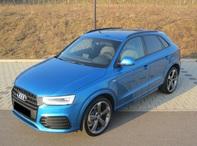 Audi Q3 2.0TDI qu.S-tronic sport,20Zoll,3x S-line