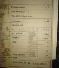 Opel Meriva 1.7 TD enjoy